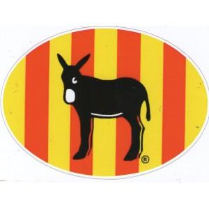 autocollant-ane-catalan-et-drapeau-catalan