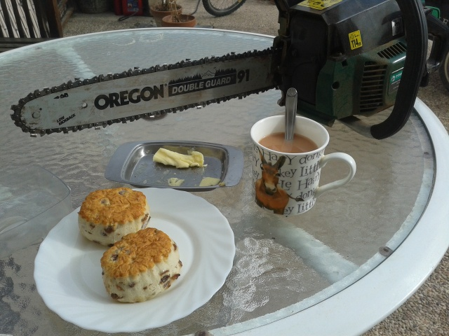 """""""On Wednesdays I go shopping, have buttered scones for tea..."""""""