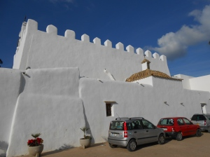 Sant Jordi se Salines - a rare example of a fortified church