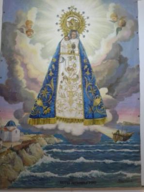 Virgen del Sufragio, Benidorm, 1740