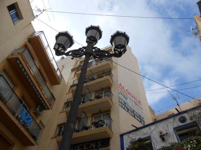 Lamp post in the Plaza de la Constitución