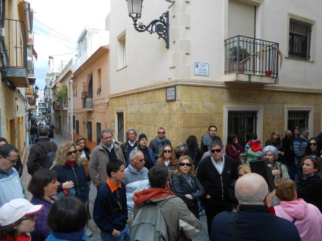 History tour at the Carrer de Cuatre Cantons