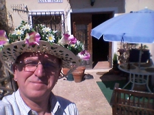 After half an hour's work and a bottle of Estrella Galicia beer, or three, there is obviously a temptation to try on the hat