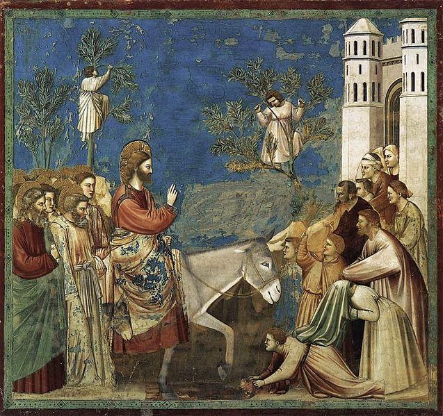 Giotto Entry into Jerusalem