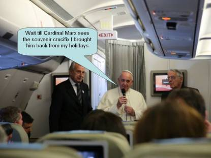 Pope explains