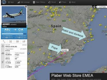 Pope plane 1