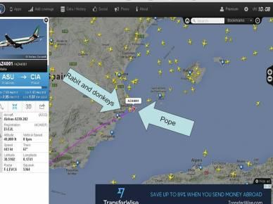 Pope plane 2